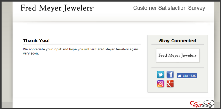 Www Fmjfeedback Com Fred Meyer Jewelers Customer Satisfaction Survey